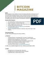 Partnerships Bitcoin Magazine 2018
