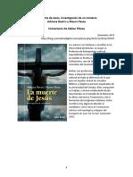 Pizaka Xabier - 2015 - Comentario a La Muerte de Jesús_Destro-Pesce