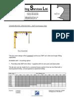 Jib Crane Datasheet Ub 360