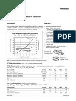 Transistor PTF080901E
