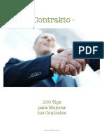 100 Tips Para Mejorar Tus Contratos (Contrakto)