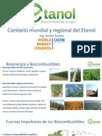 2.- Contexto Mundial y Regional Del Etanol- Bolivia