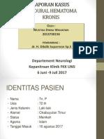 Ppt Laporan Kasus Sdh -Mustika Dw 2013730156