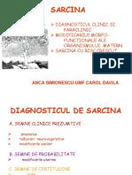 Diagnosticul de Sarcina curs