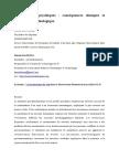 Traumatisme Psychique - Consequences Cliniques Et Approche Neurobiologique (10 Pages - 168 Ko)