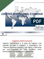 Mini Aula de Logistica Internacional e Comex UNINASSAU 2017