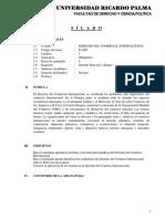 FDCP Derecho Comercio Internacional 2016