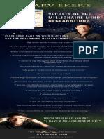 Declaraciones para mentes millonarias (inglés)