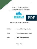 Proyecto Medico Serums Hugo Reyes