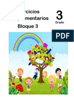 3er Grado - Bloque 3 - Ejercicios Complementarios