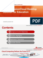 Huawei FusionCloud Desktop Solution Overview Presentation (for Education)