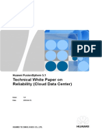 Huawei FusionSphere 5.1 Technical White Paper on Reliability (Cloud Data Center)