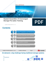Huawei OceanStor V3 Converged Storage Pre-sales Training