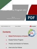 Huawei Partner Program 201001v3.0