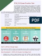 SAP Data Center C_EWM_91 Practice Exam - Updated 2018