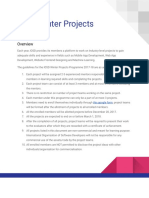 IOSD Winter Projects - Google Docs