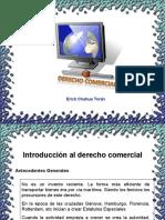 Derecho comercial Perú ununiversidad de huanuco 2010