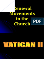 Renewal Movements in the Church