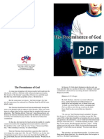 The Preeminence of God