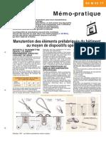 Manutention Elements Prefabriques Batiment Dispositifs Specifiques