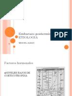 ETIOLOGIA EMBARAZO POSTERMINO