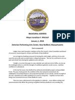 Mayor Jon Mitchell's 2018 Inaugural address