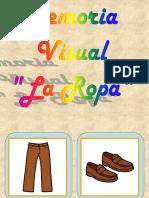 Memoria Visual LA ROPA