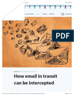 How Email in Transit Can Be Intercepted Using DNS Hijacking