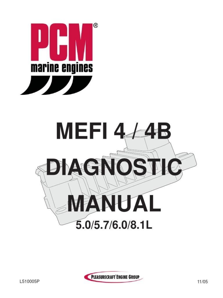 Mefi 4 Wiring Diagram - Data Wiring Diagram Malibu Indmar Wiring Diagrams on