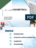 Elementos de La Optica Geometrica