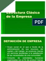 Estructura Clasica de la Empresa