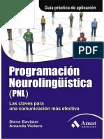 Programacion Neurolingaoeistica -Pnl- - Steve Bavister, Amanda Vickers