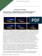 Reportagem Tribuna de Minas - Mais Calor, Mais Chuvas, Mais Raios - SPDA