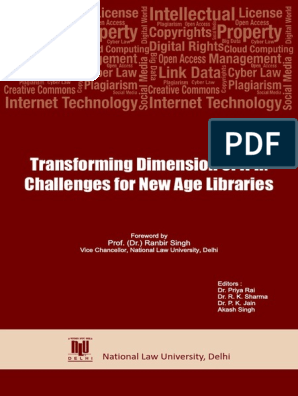 Transforming Dimension of IPR - Challenges for New Age Libraries_2