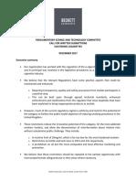 Response to Parliamentary Enquiry on E-cigarettes_BECKETT ASSOCATES