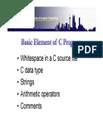 2b- Basic Element of C-]