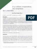 Calidad total y cultura corporativa . Estudio de tres empresas en Colombia
