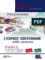 Aftes2017 Programme