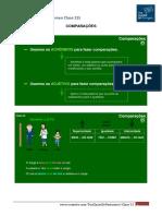 Resumen Clase 23 - Tus Clases de Portugues - COMPARAÇÕES