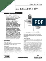 c471 c477 Internal Valves Lp Instruction Manual French Fr 127478