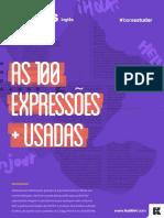 INGLÊS as 100 Expressões Mais Usadas