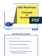 Data Warehouse Concepts and Architecture