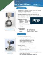 Caudalímetros Electromagnéticos AFS