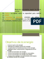 3era Clase Energia