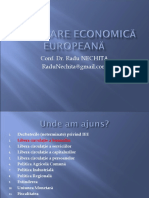 Economia Integrarii Europene - Radu Nechita 1