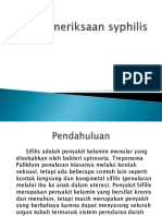 Pemeriksaan Sifilis Strip