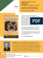 David Biale on Hasidism