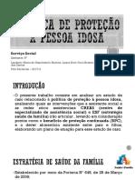 Política de Proteção a Pessoa Idosa