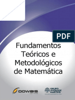 Fundamentos Teóricos e Metodológicos de Matemática