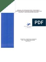 Manual Funcion de Cargos Pabellon y Recuperacion Central